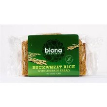 Organic Rice Buckwheat Bread