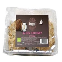 Org Raisin & Coconut Cookies
