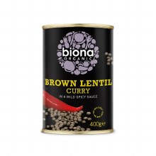 Organic Brown Lentil Curry 400g