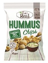 Eat Real Creamy Dill Chips 10s