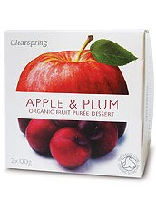C'spring Og Apple+plum Puree
