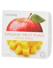 Clearspring Apple/mango Puree