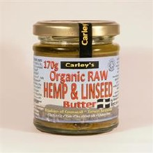 Carleys Raw Hemp/lins Butter