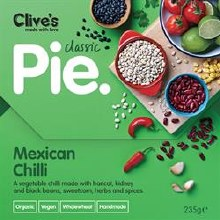 Clives Mexican Chilli Pie