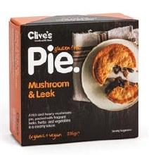 G/f Mushroom & Leek Pie