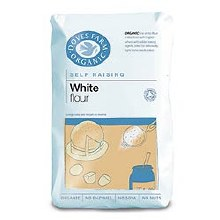 Doves Organic White Self Raising Flour