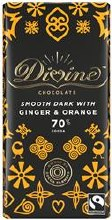 Divine Dark Choc Ginger&orange