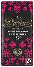 Divine Dark Choc & Raspberries