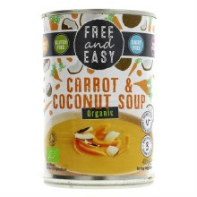 Free Carrot & Coconut Soup