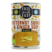 Free Butternut & Ginger Soup