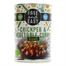 Free & Easy Chickpea/veg Curry
