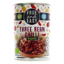 Free & Easy 3 Bean Chilli