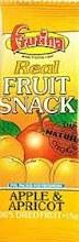 Apricot & Apple Fruit Bar
