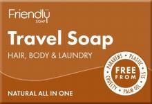 Friendly Natural Travel Soap