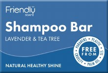 Friendly Shampoo Bar Lav/tea