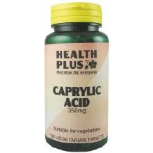 Health Plus Caprylic Acid 350mg