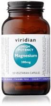 Viridian High Potency Magnesium 300mg 120 Capsules