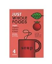 Org Vegan Tomato & Basil Soup