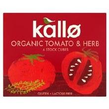 Kallo Og Tomato/herb Stk.cube
