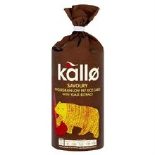 Kallo Thick Savoury Rice Cakes