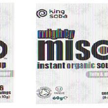 King Soba Miso Soup - Ginger