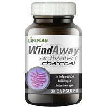 Lifeplan WindAway Activated Charcoal 30 Capsules