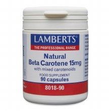 Lamberts Natural Beta Carotene 15mg