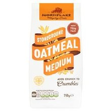 Mornflake Medium Oatmeal 750g