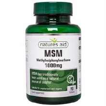 Natures Aid MSM 1000mg 90 Tablets