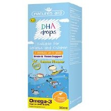 Natures Aid DHA Drops for children