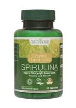 Organic Spirulina 500mg