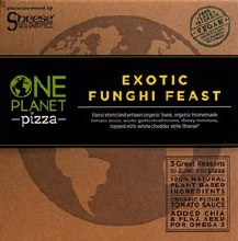 One Planet Fungi Feast Pizza
