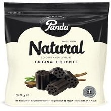 Panda Liquorice Cuts In Bag