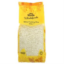 Pp White Pudding Rice  500g