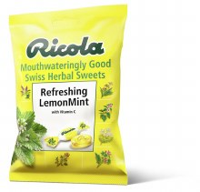 Ricola Lemon Mint Bag