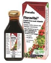 Floradix Yeast free Floravital Formula 250ml