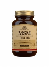 Solgar MSM 1000 mg 60 Tablets