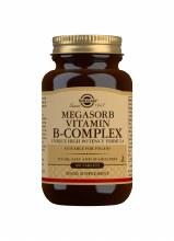 Solgar Megasorb Vitamin B-Complex 100 Tablets