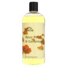 Suma Rose & Geranium Shampoo