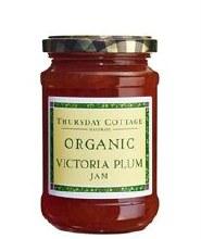 Organic Victoria Plum Jam