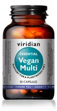 Essential Vegan Multi 30 Caps