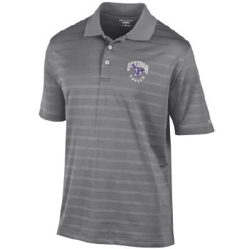 Golf Shirt Chp Text Grey S