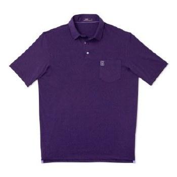 Golf Shirt J-O Harvey Purple S