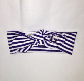 Hair Knot Purple 0-3 mo