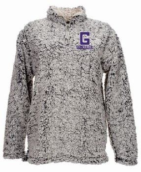 QTR Zip Ladies Sherpa Grey M