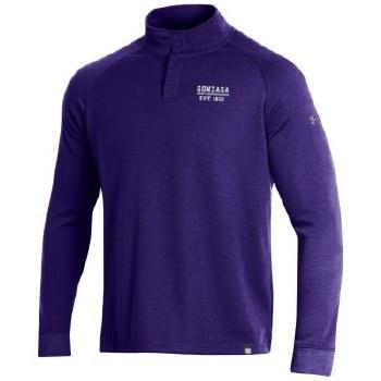 QTR Zip UA Snap Purple S