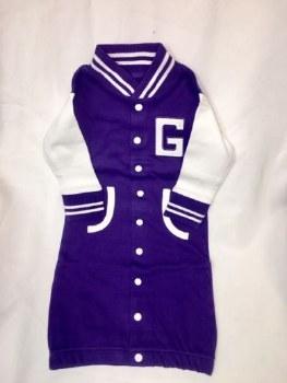 Romper Varsity Purple 0-3 mo