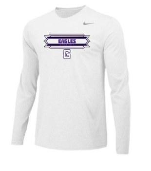 T Shirt Nike l/s RISE White L