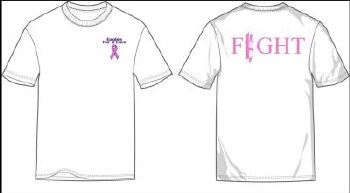 T Shirt Pink '18 White XL