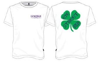 T shirt YTH shamrock W YXL